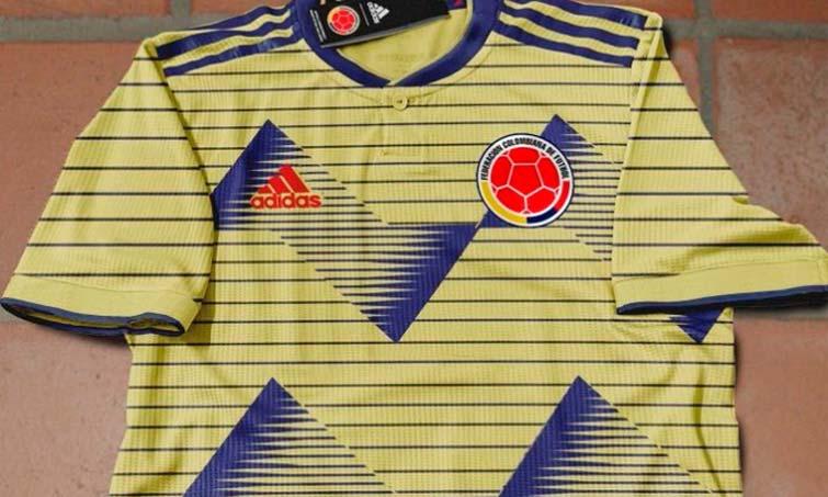 209bbe5831d7d Filtran la que sería la nueva camiseta de la Selección Colombia para Copa  América