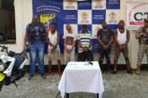 Capturan a cinco hombres que extorsionaban a un comerciante en Buenaventura