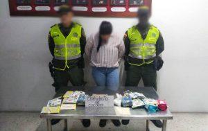 Capturan mujer que pretendía viajar a España con cinco kilos de cocaína