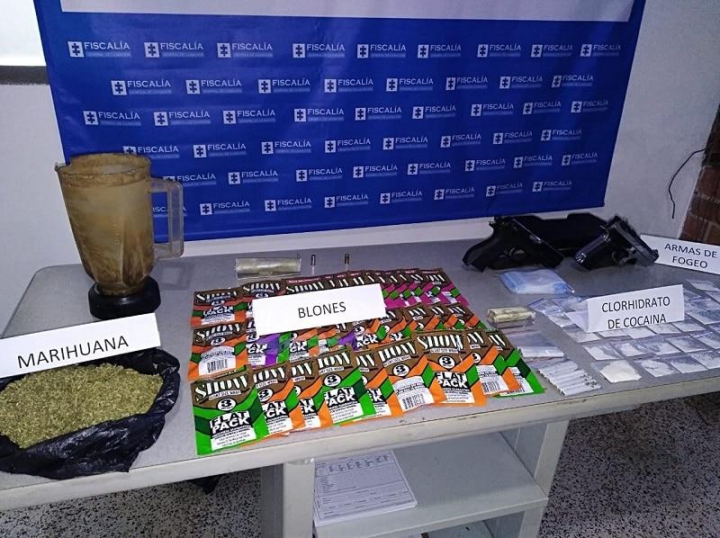 Los 'caramelos saborizados' con droga que le incautaron a mujer cerca a colegio de Cali