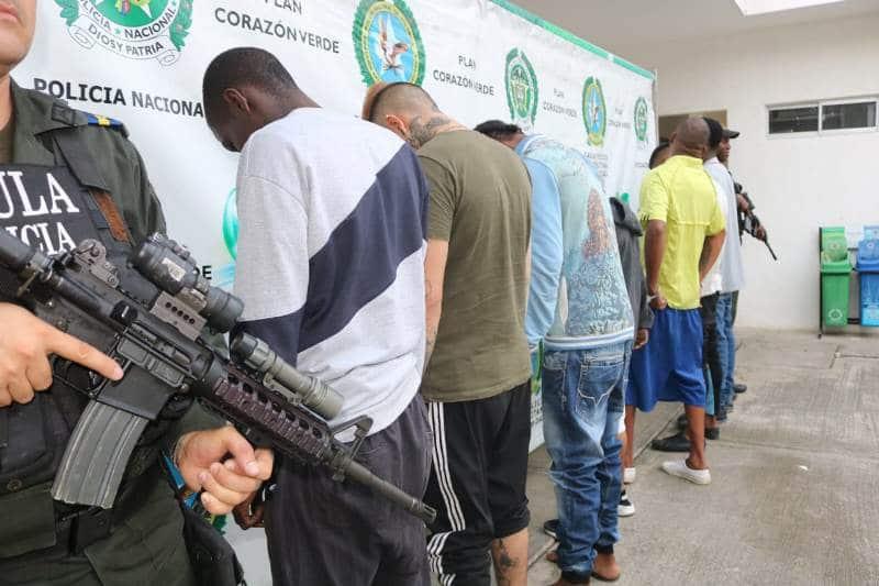 Cae red delincuencial presuntamente vinculada con el Clan del Golfo, en Cali