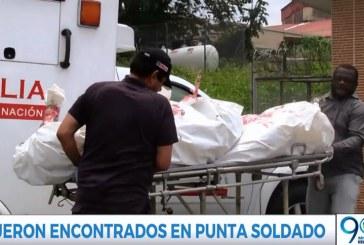 Hallan cuerpos que podrían pertenecer a miembros de la Armada desaparecidos
