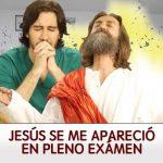 Para los que llegan a rezar al examen