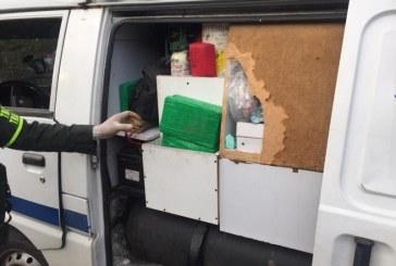 Dos paramédicos capturados por transportar 36 kilos de cocaína en una ambulancia
