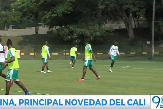 Con Pablo Mina en el arco, Deportivo Cali buscará sumar en su visita a Nacional