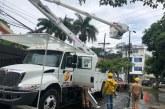 Emcali continúa trabajando para normalizar el servicio de energía en barrios de Cali