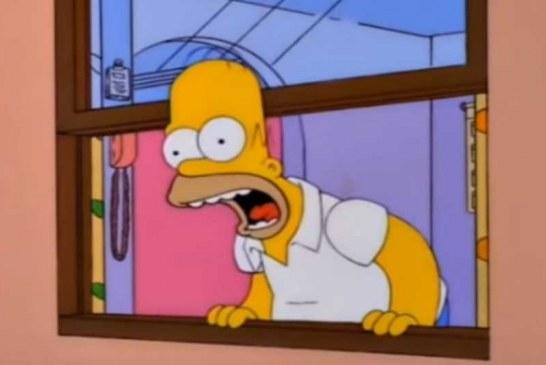 El Challenge de 'Los Simpson' que tiene a medio mundo gritando por la ventana