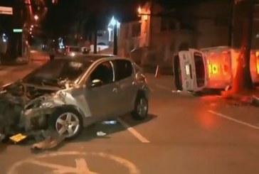 Conductor ebrio chocó contra ambulancia en el norte de Cali, hubo 5 heridos