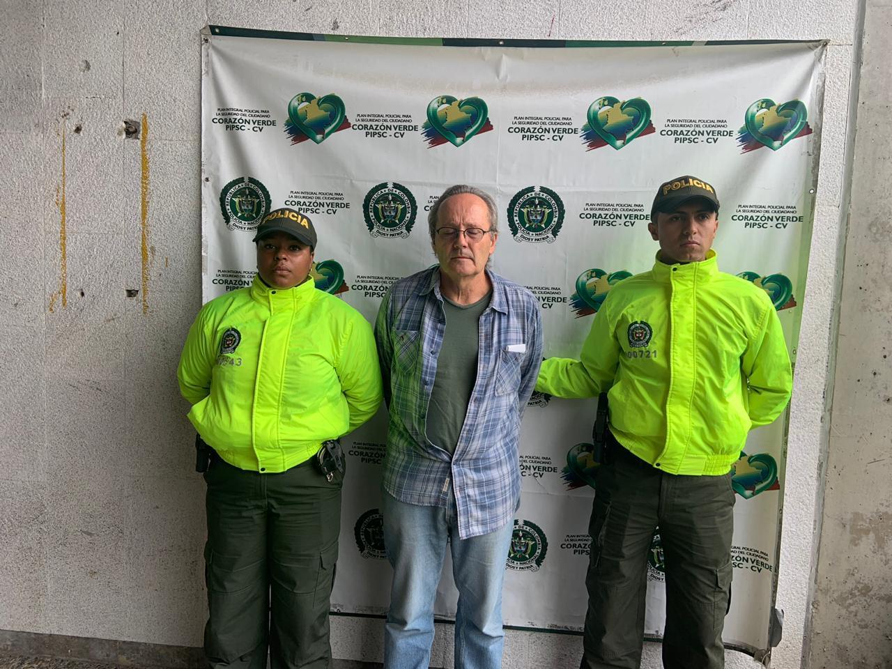 Por explotación sexual de menores, capturan ciudadano estadounidense en Medellín
