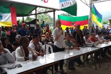 "Gobernadora insta al ""diálogo social"" como opción para solucionar problemas con indígenas"