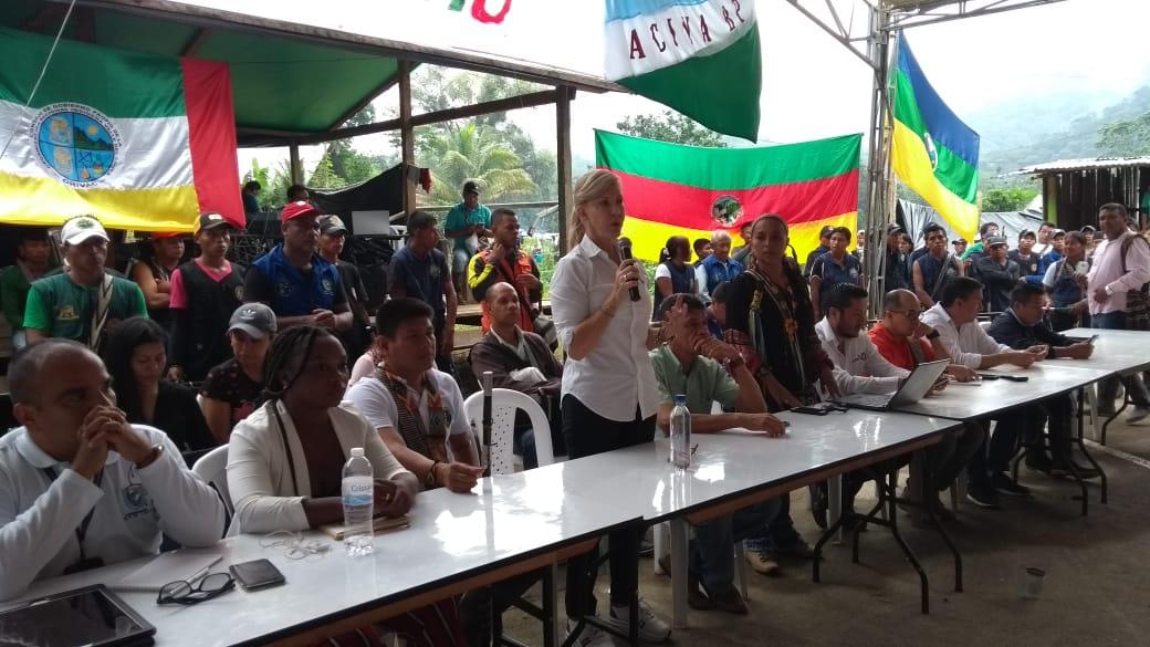 Pocos avances en los diálogos con indígenas en el Cauca