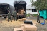 Autoridades del Valle incautan cargamento con marihuana proveniente de Corinto