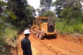 Ingenieros militares adelantan obras de mantenimiento en vía alterna Cali – Popayán