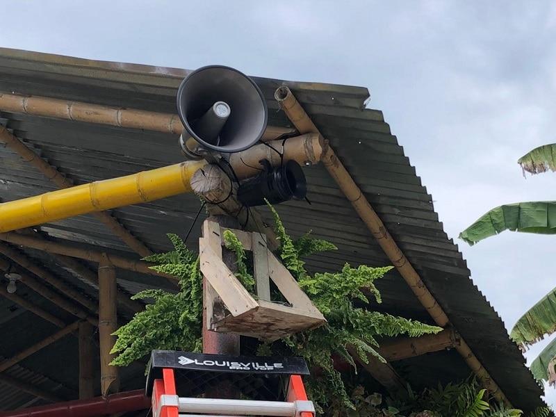 Instalan dispositivos de alarma temprana para evitar emergencias naturales en Buga