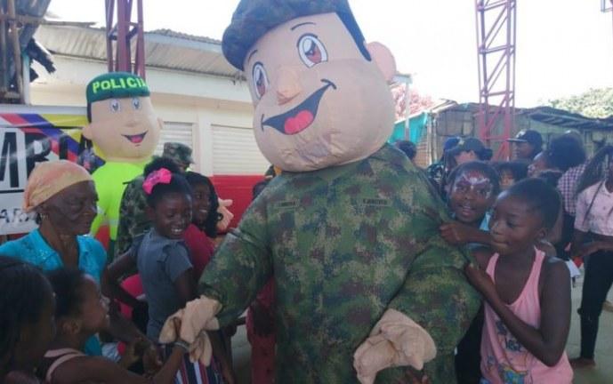 Avanzan jornadas sociales en municipios del Cauca lideradas por el Ejército Nacional