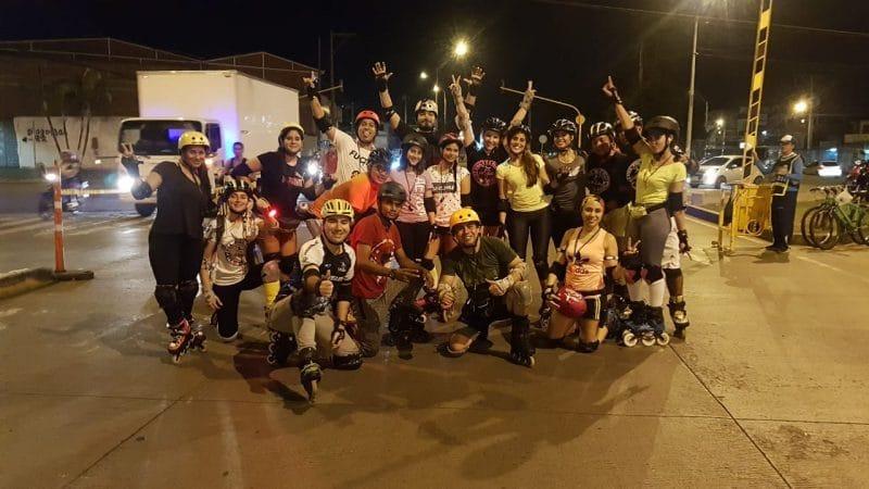 Con miles de deportistas, se cumplió primera Ciclovida nocturna del año en Cali
