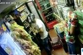 Ladrones llegaron a tienda de Cali y hurtaron comida y $100.000 pesos en cerveza