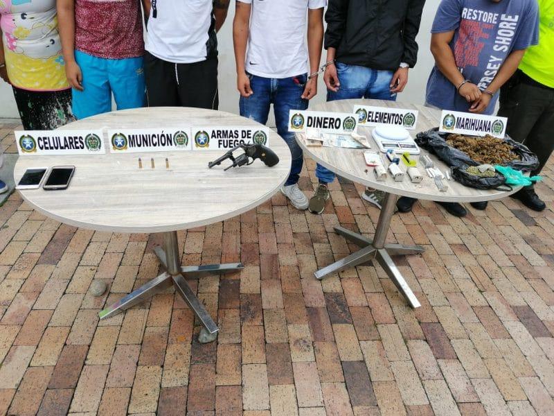 Ofensiva contra el homicidio y tráfico de drogas deja varios capturados en el Valle