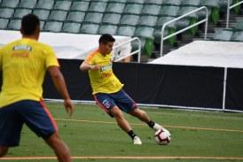 Selección Colombia ya entrena con todos sus jugadores para amistosos FIFA en Asia