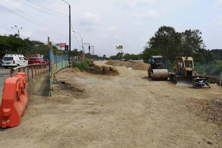 En diferentes frentes, así avanza la ampliación a tres carriles de vía Cali-Jamundí