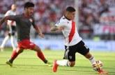 River Plate confirmó la grave lesión que sufrió en una rodilla Juan Fernando Quintero