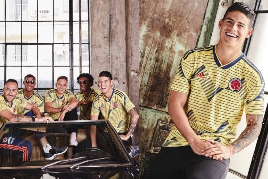 En Japón, Selección Colombia reveló al mundo camiseta oficial para Copa América
