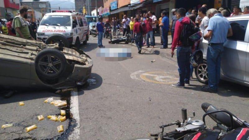 Identifican a motociclista que murió en accidente de tránsito en San Nicolás, Cali