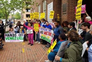 Activistas pro-Maduro ocupan embajada de Venezuela en Washington