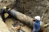 Acuavalle informa que por ruptura de tubería se suspedrá el servicio de agua en Sevilla