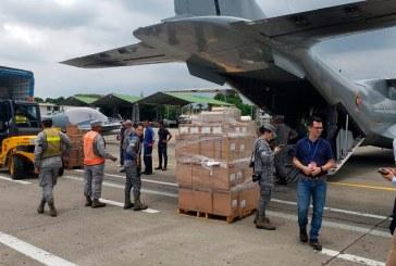 Dos aeronaves con ayuda humanitaria para el Cauca volaron desde Cali