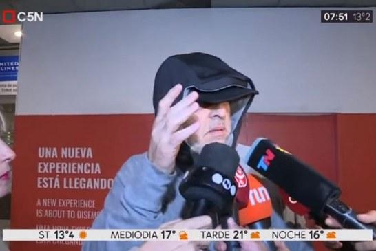En video: así fue la reacción de líder de la barra de Boca Juniors deportado en Bogotá