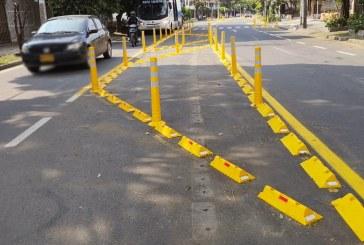 Caleños inconformes con cambios viales implementados en el barrio Salomia