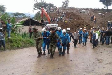 Asciende a 21 la cifra de muertos tras el deslizamiento de tierra en Rosas, Cauca