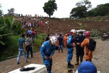 Identifican a 17 personas fallecidas tras deslizamiento de tierra en Rosas, Cauca