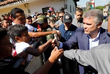 Iván Duque se fue del Cauca y no se reunió con indígenas en la plaza pública