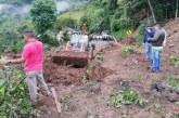 Duque visitó zona de deslizamiento donde murieron 17 personas en Rosas, Cauca