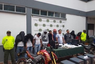 Envían a la cárcel a 10 presuntos integrantes de banda los 'Gota a Gota' en Cali