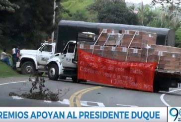 Gremios del Valle apoyan a Duque en postura con minga, Iglesia insiste en el diálogo