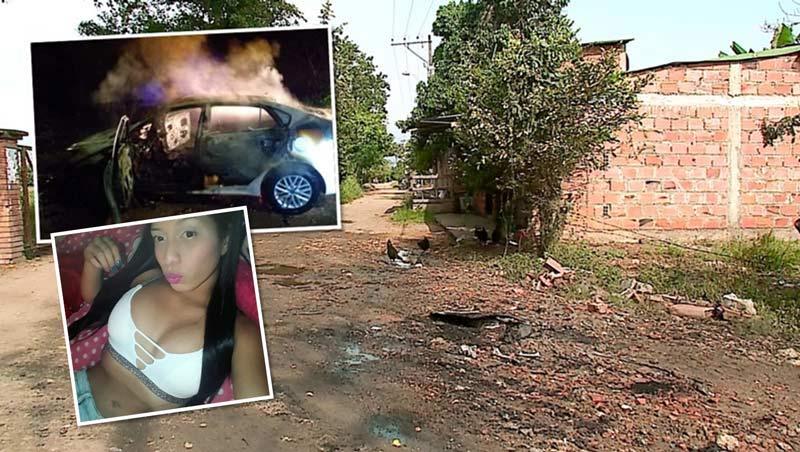 Identifican a joven mujer que fue hallada calcinada en bodega de vehículo en Jamundí