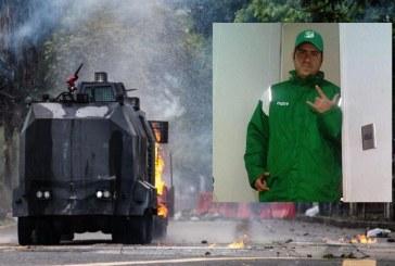 ¿Quién era la persona que falleció por explosión durante protestas en Univalle?