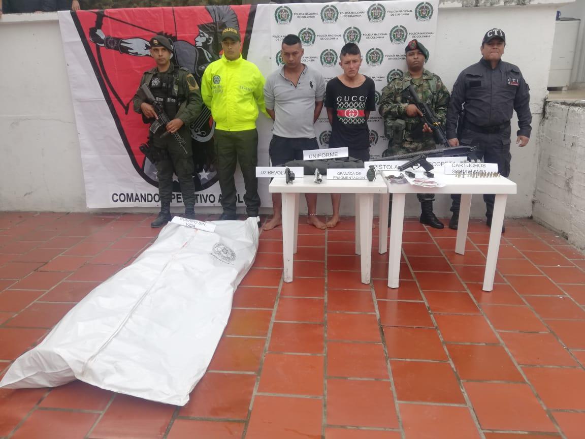 Autoridades dieron de baja a jefe de las disidencias de las Farc en Cauca