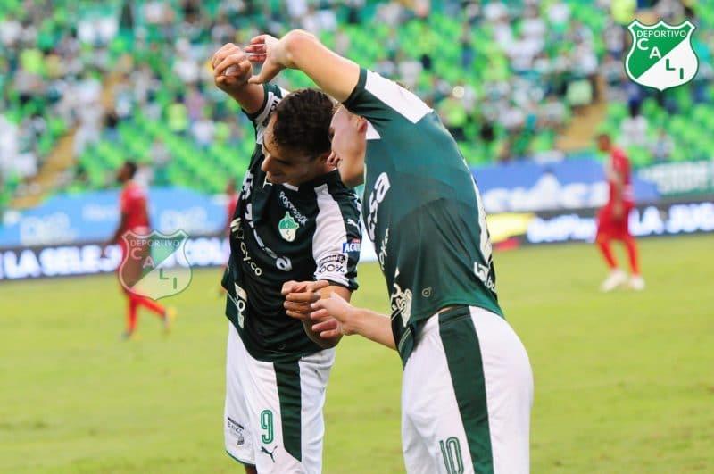 Palpitando la clasificación, Deportivo Cali se impuso a Rionegro Águilas
