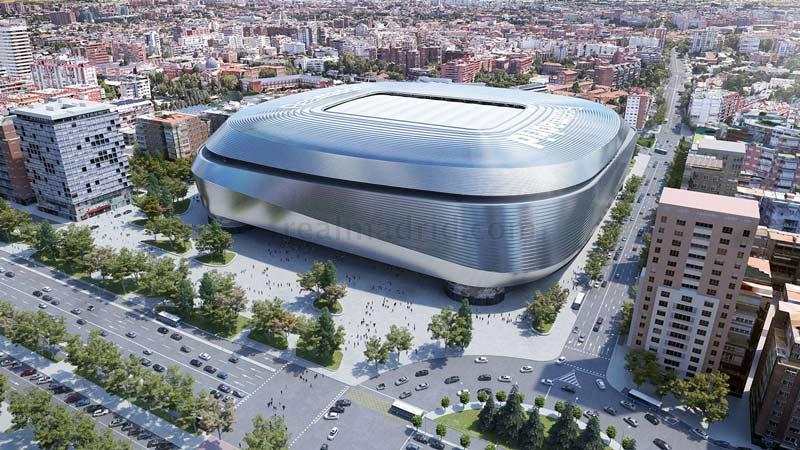 """Real Madrid remodelará el Bernabéu para convertirlo en """"el mejor estadio del mundo"""""""
