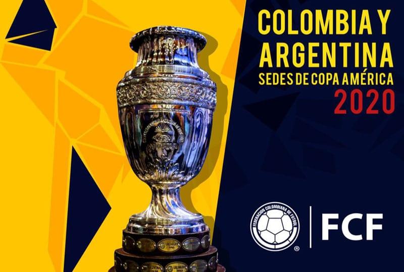 Así sería el sistema de juego en la Copa América Colombia-Argentina 2020