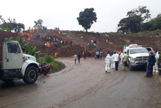 Última víctima de la catástrofe de Rosas, Cuaca fue recuperado bajo los escombros