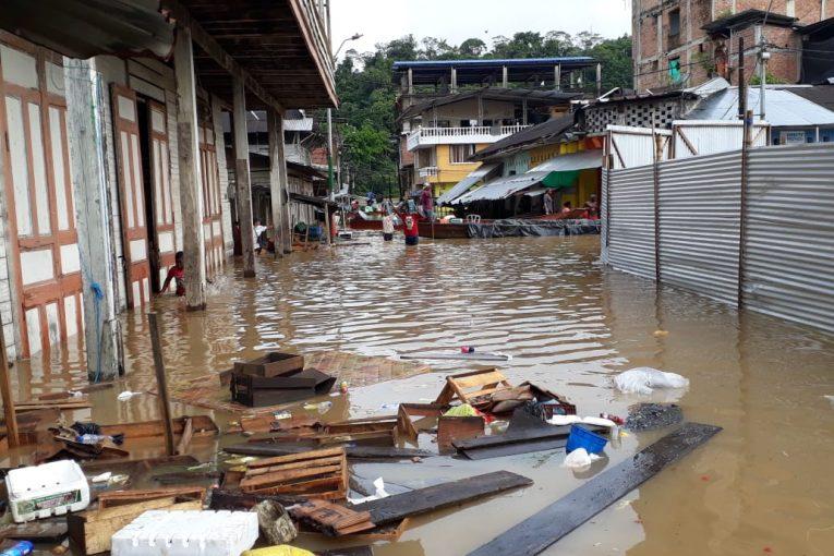 Fuertes lluvias en el municipio de Barbacoas, Nariño, deja más de 9.000 damnificados