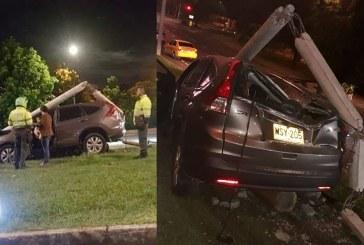 Tres jóvenes heridos dejó aparatoso accidente en el barrio El Ingenio, sur de Cali