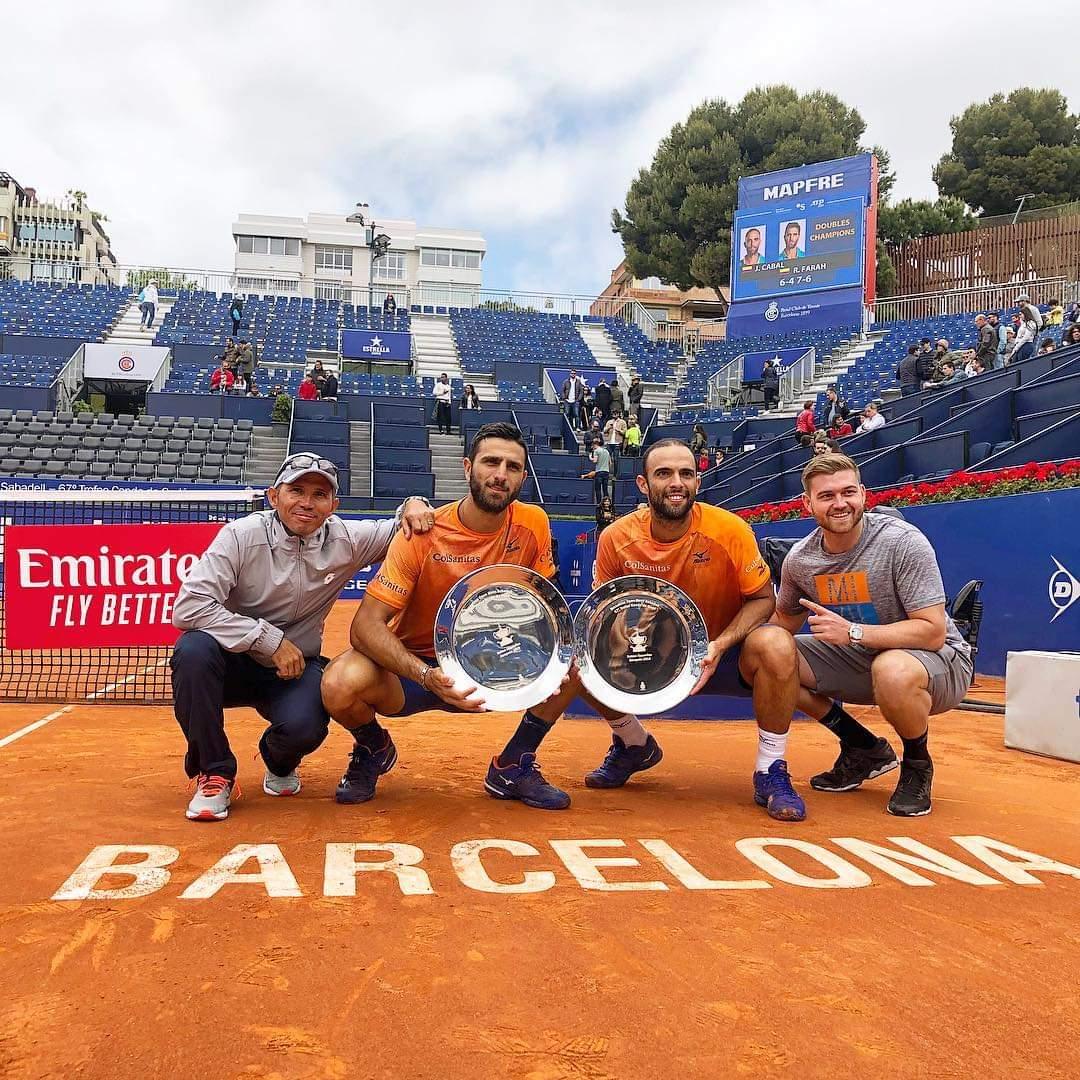 El trofeo Conde de Godó es para los colombianos Juan Sebastián Cabal y Robert Farah