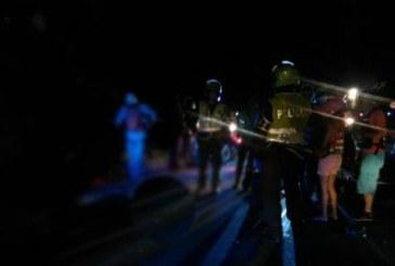 Una persona muerta y tres más heridas dejó accidente de tránsito en el Valle