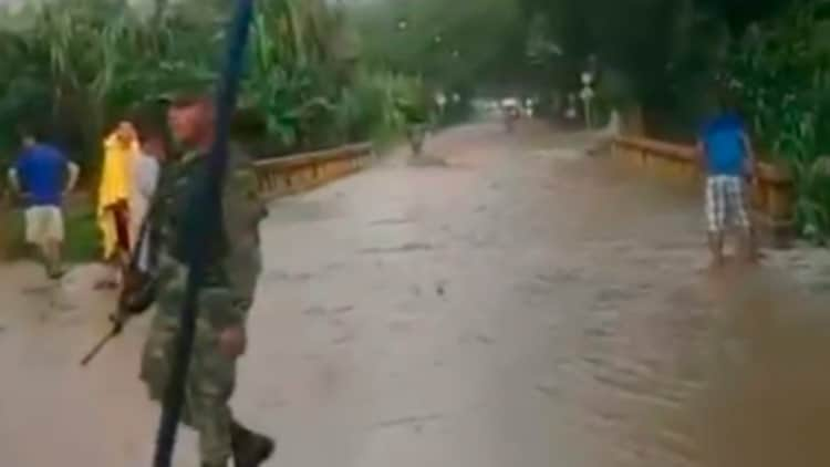 Fuertes lluvias dejan 40 viviendas afectadas en Florida, Valle